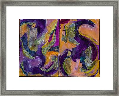 Spring Road Framed Print