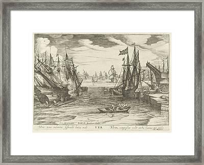Spring, Robert De Baudous Framed Print by Robert De Baudous And Nicolaas Jansz. Van Wassenaar