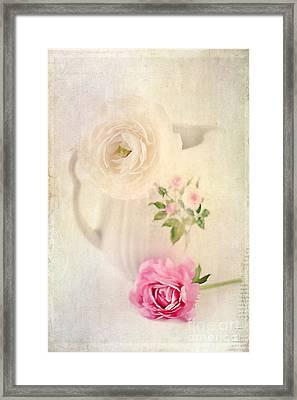 Spring Romance Framed Print by Darren Fisher