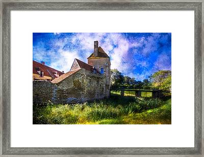 Spring Romance In The French Countryside Framed Print by Debra and Dave Vanderlaan