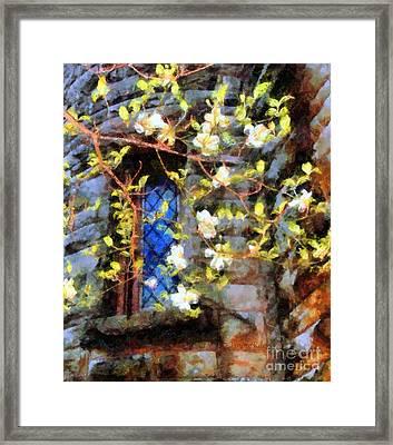 Spring Romance Framed Print