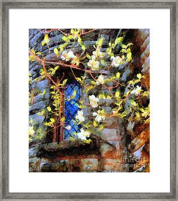 Spring Romance Framed Print by Janine Riley
