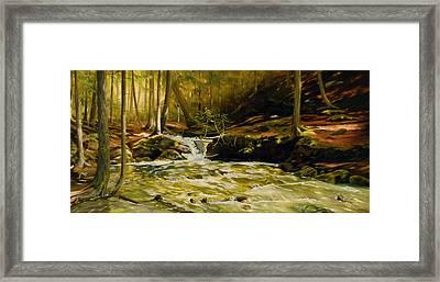 Spring Rush Framed Print by Linda Hunt
