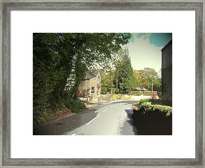 Spring Scene At Millthorpe, Spring Scene At Millthorpe Framed Print by Litz Collection