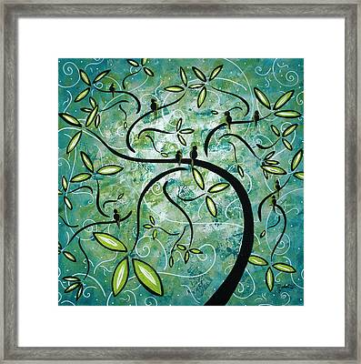 Spring Shine By Madart Framed Print