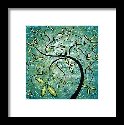 Turquoise Framed Prints