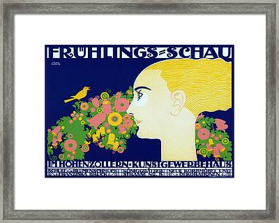 Spring Show Hohenzollern Framed Print by Charlie Ross