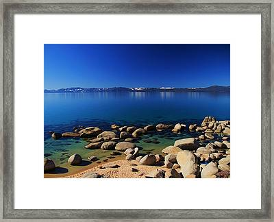 Framed Print featuring the photograph Spring Simplicity by Sean Sarsfield