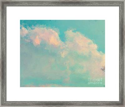 Spring Sky Framed Print by Lonnie Christopher