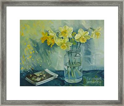 Spring Smile Framed Print