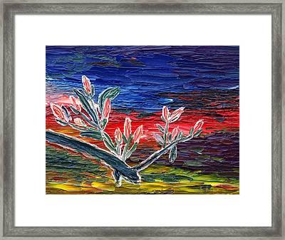 Spring Spirit Framed Print by Vadim Levin