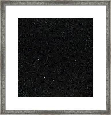 Spring Stars Without Light Pollution Framed Print by Eckhard Slawik