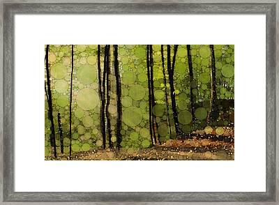 Spring Trees Framed Print by Steven Boland
