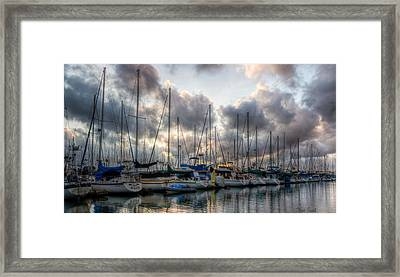 Spring Storm's Clearing Framed Print by Heidi Smith