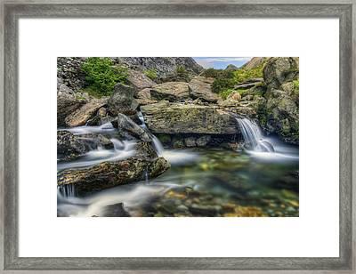 Spring Stream Framed Print by Ian Mitchell