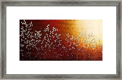 Spring Sunrise Framed Print by Carmen Guedez