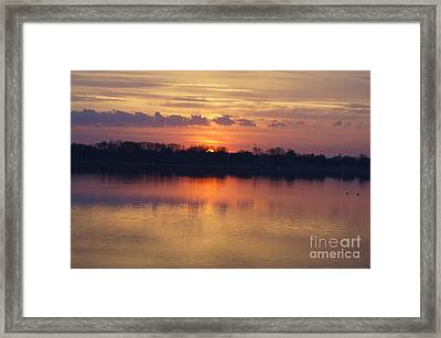 Spring Sunrise Framed Print