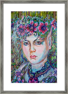 Framed Print featuring the painting Spring by Suzanne Silvir