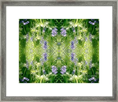 Spring Symmetry Framed Print