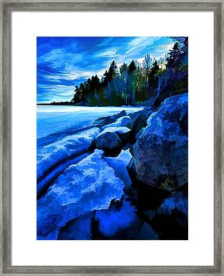 Spring Thaw Framed Print by ABeautifulSky Photography