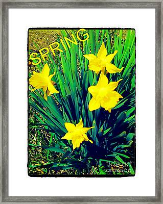 Spring Framed Print by Thommy McCorkle
