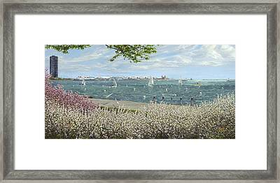 Spring Tidings Framed Print