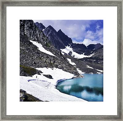 Spring Time In The Mountains Framed Print
