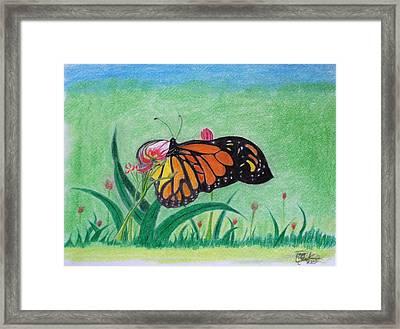 Spring Framed Print by Tony Clark