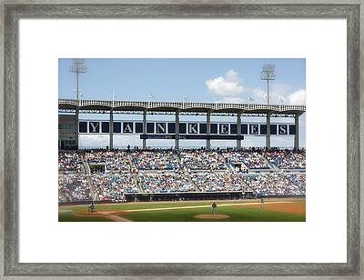 Spring Training Framed Print