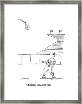 'spring Training' Framed Print