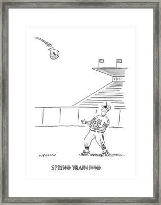 'spring Training' Framed Print by Mick Stevens