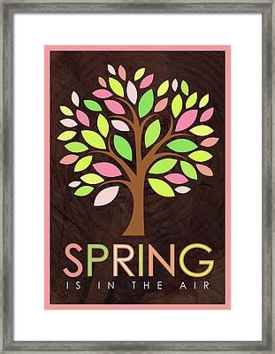 Spring Tree Framed Print by Tammy Apple
