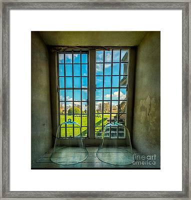 Spring View Framed Print by Adrian Evans