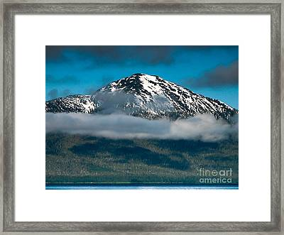 Spring View Of The Mountain Framed Print