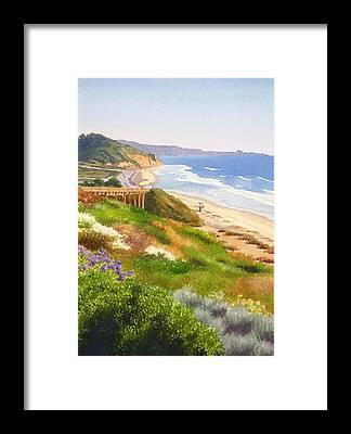 Del Mar Framed Prints