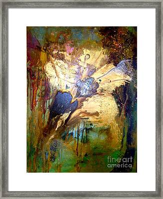 Spring Whimsy  Framed Print by Michelle Dommer