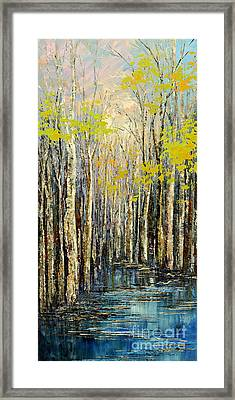Spring Wind Framed Print
