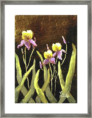 Framed Print featuring the painting Spring Wonder by Vic  Mastis