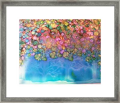 Spring Woods Framed Print