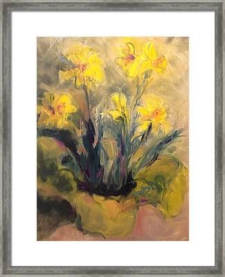 Spring Yellow Framed Print