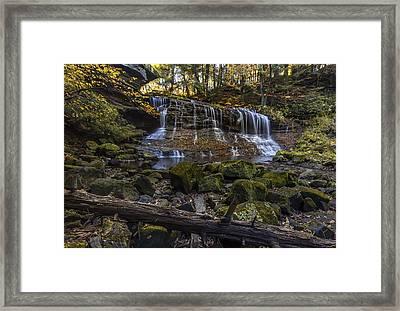 Springfield Falls Framed Print