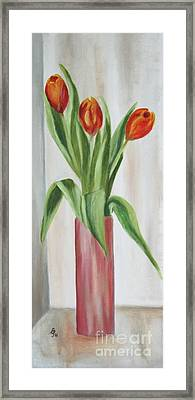 Springflowers Framed Print