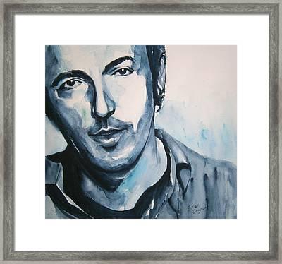 Springsteen Framed Print