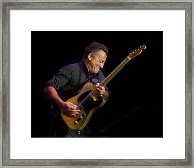 Springsteen Shreds Framed Print