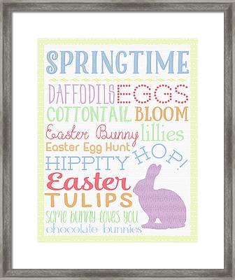Springtime Framed Print by Aubree Perrenoud