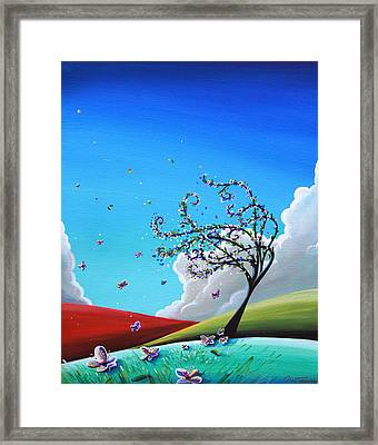 Springtime Framed Print by Cindy Thornton