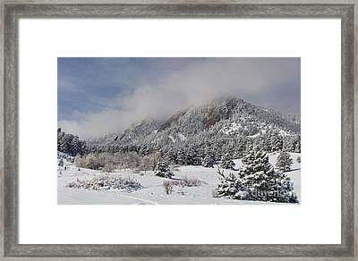 Springtime Colorado Rocky Mountains Boulder Framed Print by James BO  Insogna