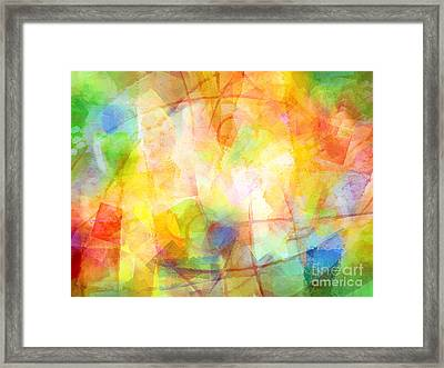 Springtime Colorit Framed Print by Lutz Baar