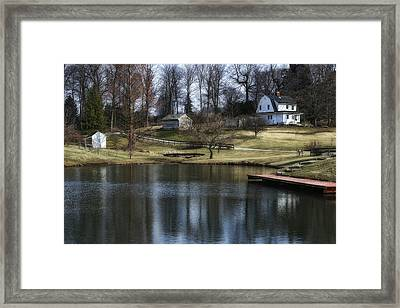 Springtime In Ohio Framed Print by Tom Mc Nemar