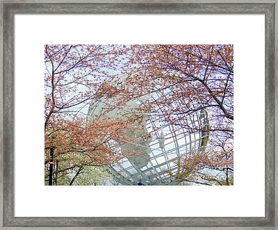 Springtime Round The World Framed Print by Ed Weidman
